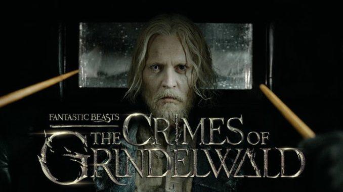 Fantastic Beasts 2 The Crimes of Grindelwald Trailer Johnny Depp