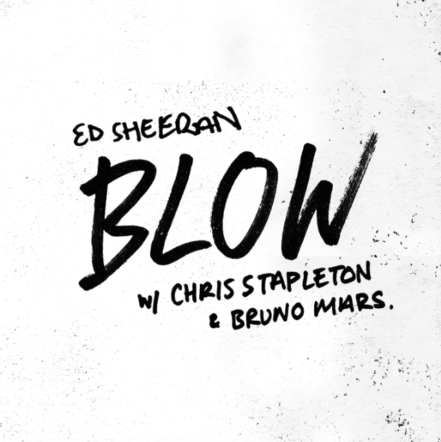 blow ed sheeran bruno mars
