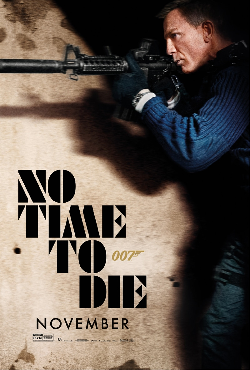 Bond 25 - No Time To Die poster 2 oficial