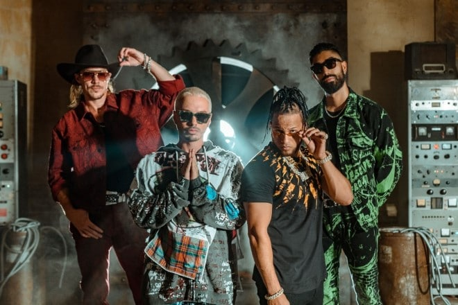 MAJOR LAZER QUE CALOR J Balvin El Alfa⁠
