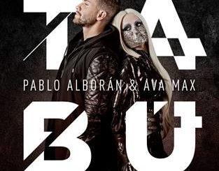 Pablo Alborán Ava Max Tabú noviembre 2019