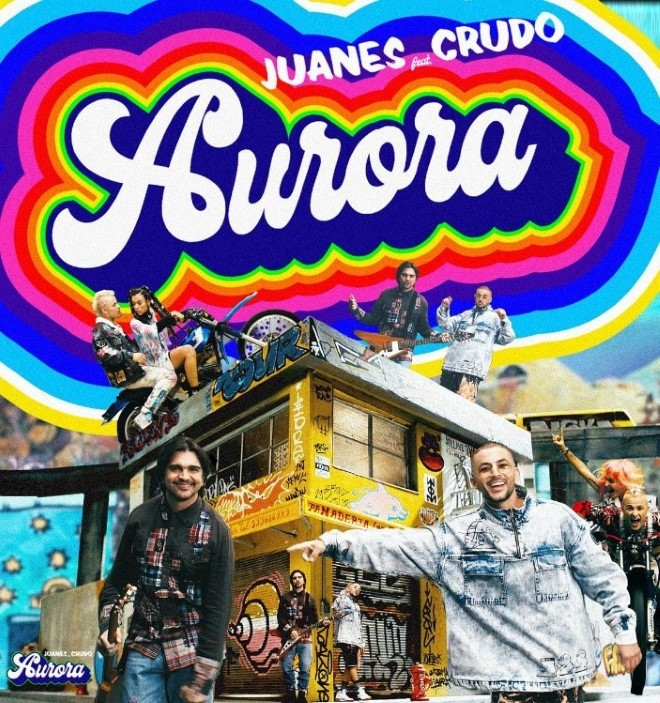 Juanes Aurora Crudo Means Raw
