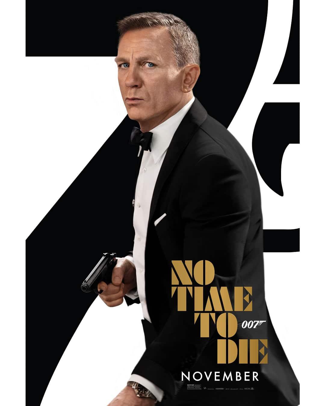 Bond 25 Aniversario Pelicula 2020 Sin Tiempo Para Morir Trailer Personaje