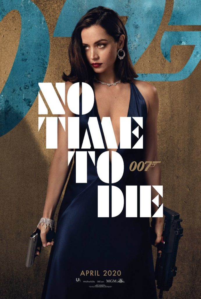 Bond 25 No Time to Die Ana de Armas