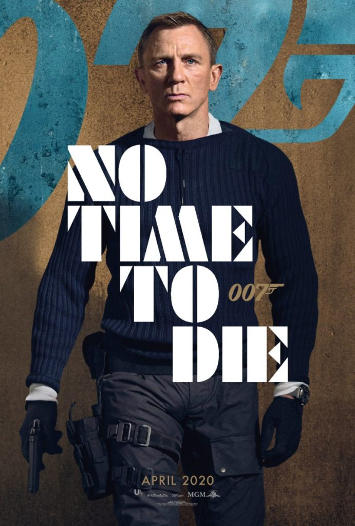 Bond 25 No Time to Die Daniel Craig