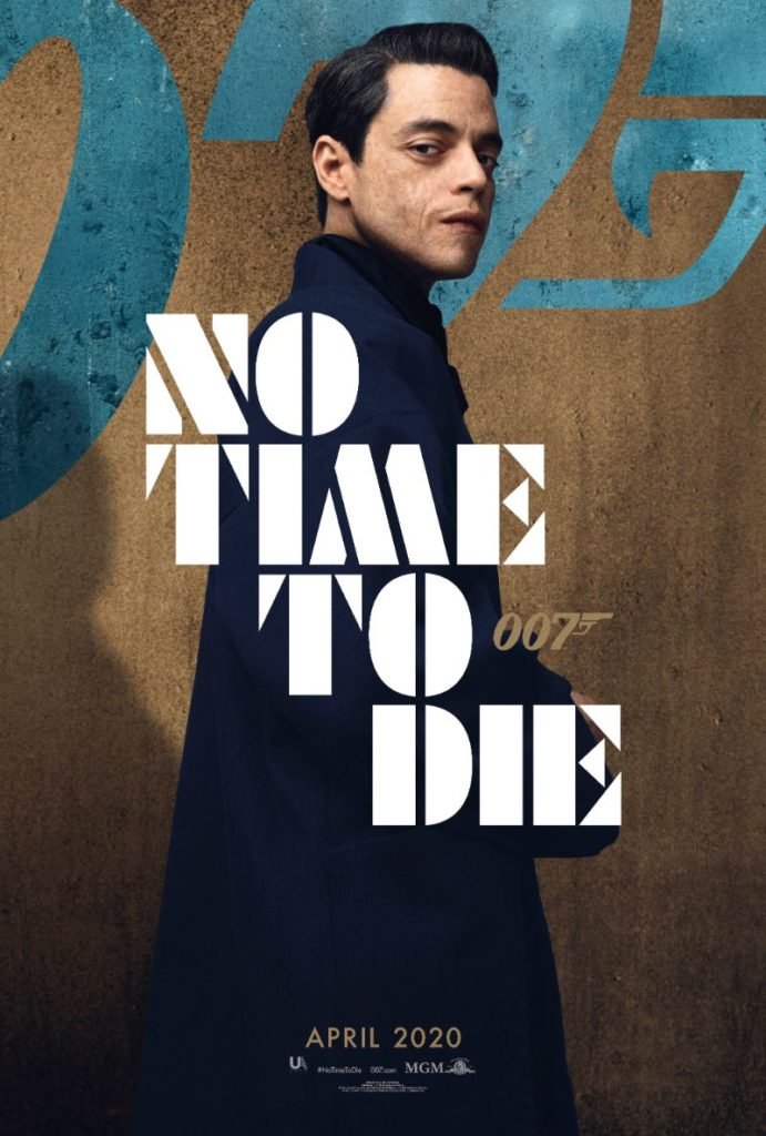 Bond 25 No Time to Die Rami Malek