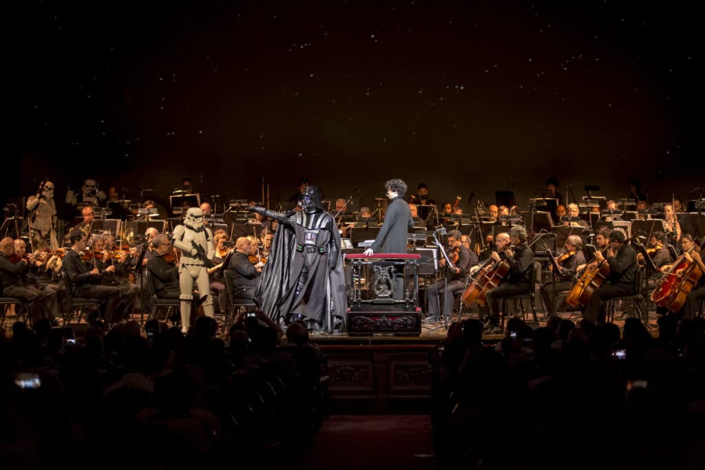 Star Wars - Una nueva esperanza en concierto