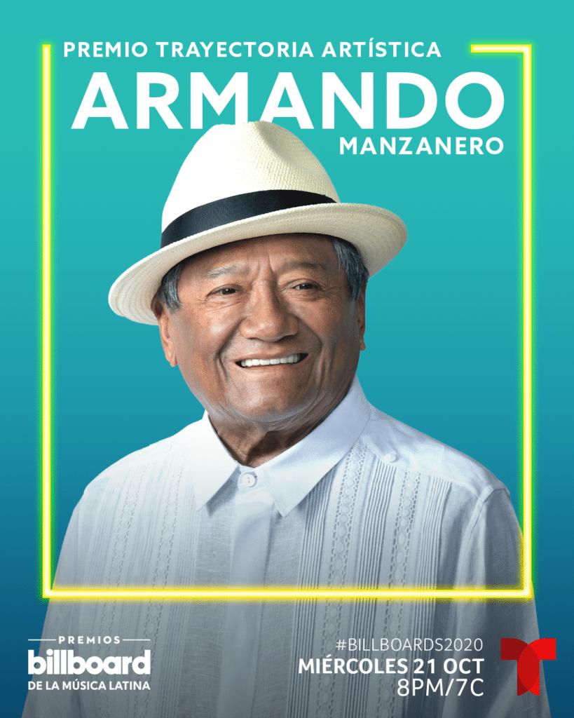 Armando Manzanero - Premio Billboard Trayectoria Artística 2020