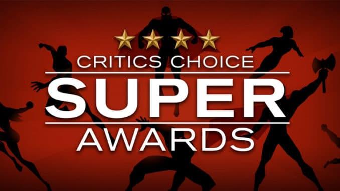 Critics Choice Super Awards - Pontik banner